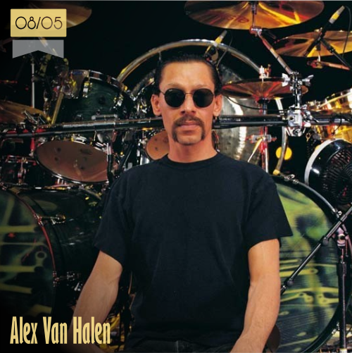 8 de mayo | Alex Van Halen - @VanHalen | Info + vídeos