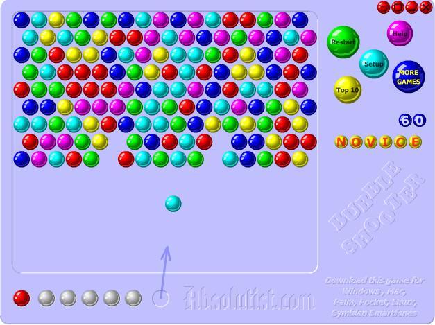 bubble shooter net