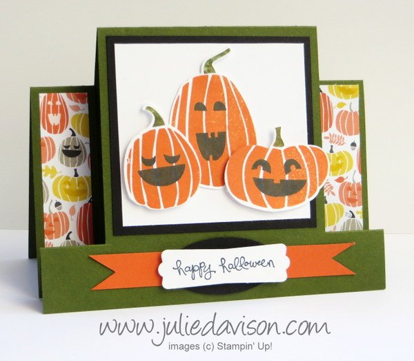 Stampin' Up! Fall Fest Center Step Card