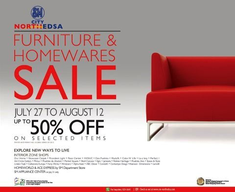 Manila shopper july 2012 Home furniture sm philippines
