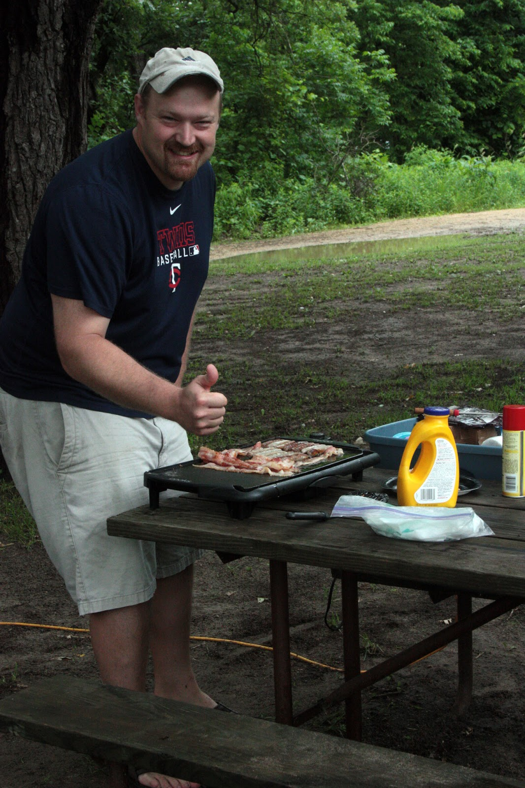 The Guse Family: Camping in Zumbro Falls, MN