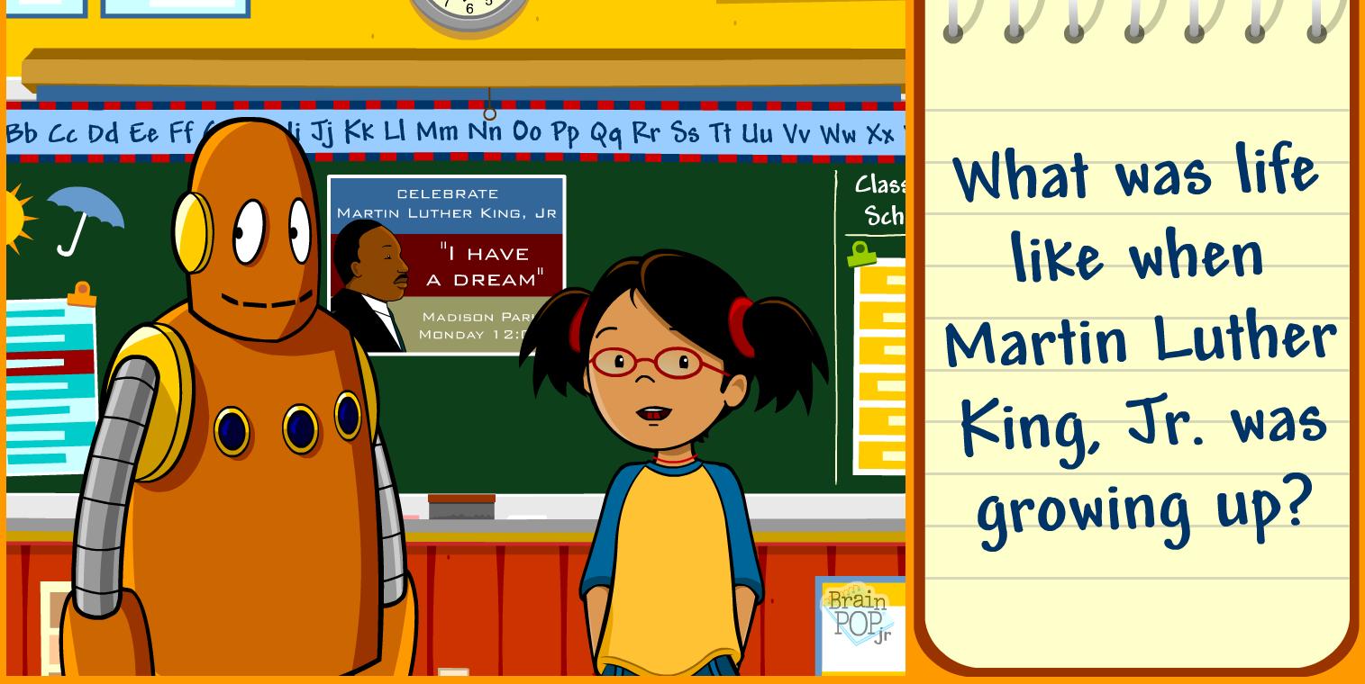 Uncategorized Brainpop Mlk hts 3rd grade technology blog martin luther king jr day what is your dream