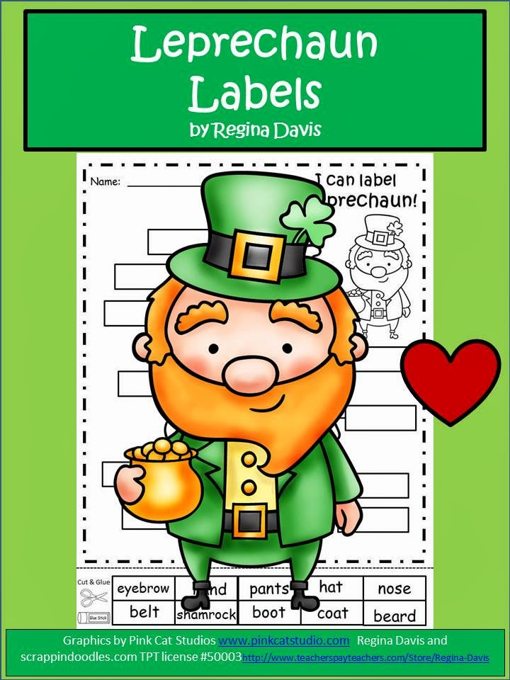 http://www.teacherspayteachers.com/Product/A-Leprechaun-Labels-610696