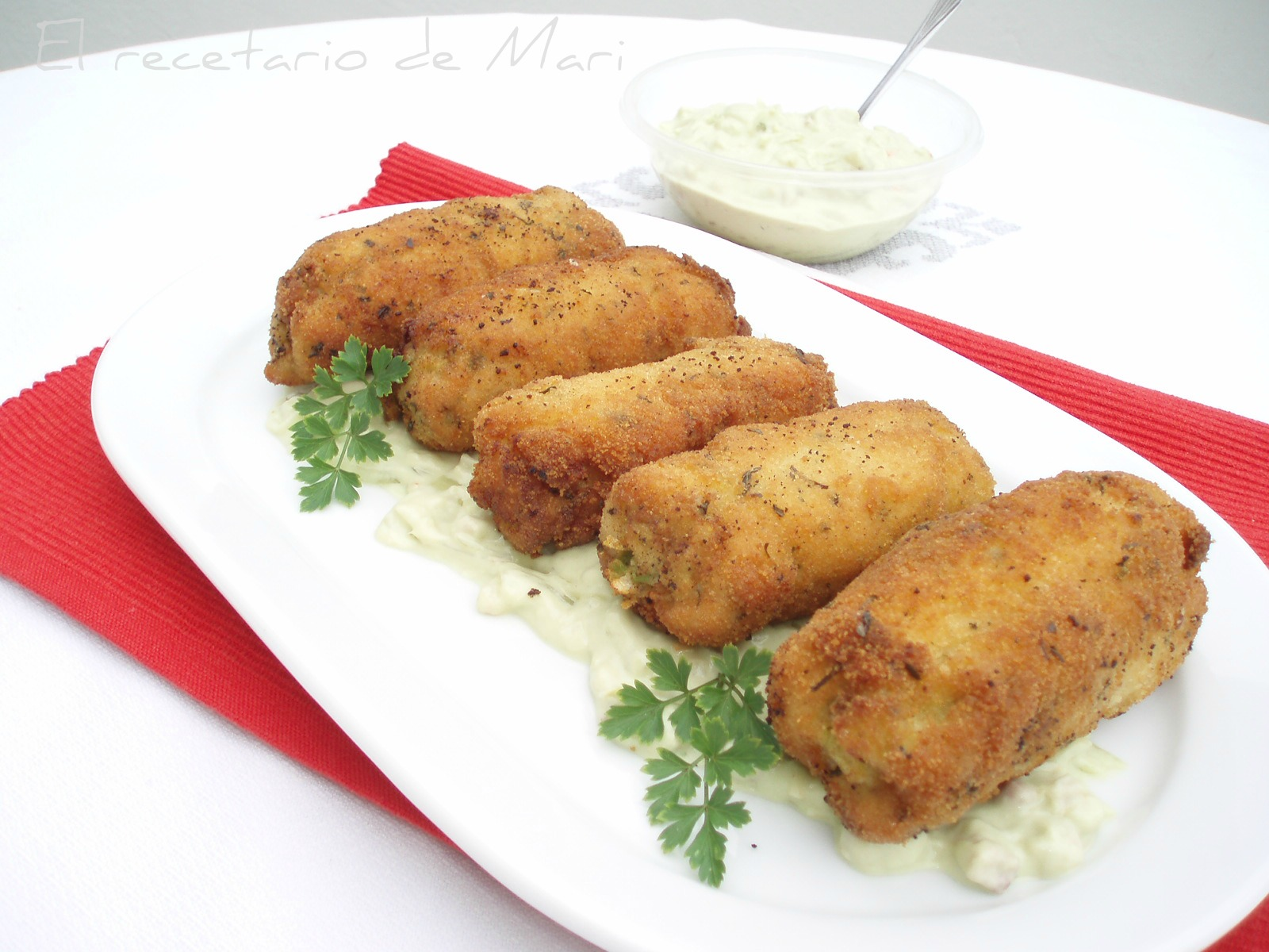 Las pechugas de pollo rellenas con tocino y queso, que