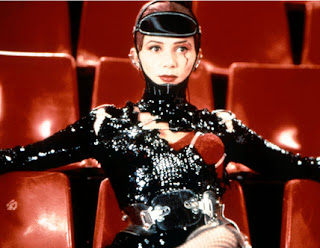Victoria Abril en una película de Almodóvar, década de los 90.