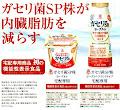 ガセリ菌SP株が内臓脂肪を減らす