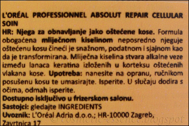 L'Oréal Professionnel Série Expert Absolut Repair Conditioner