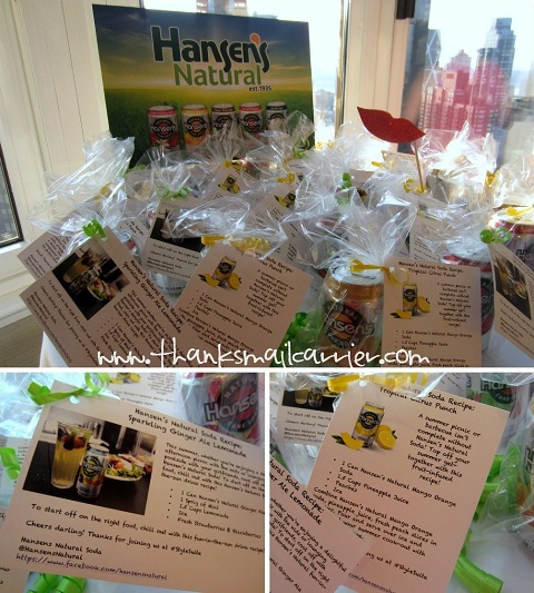 Hansen's soda recipes