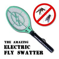Spank electrical flyswatter