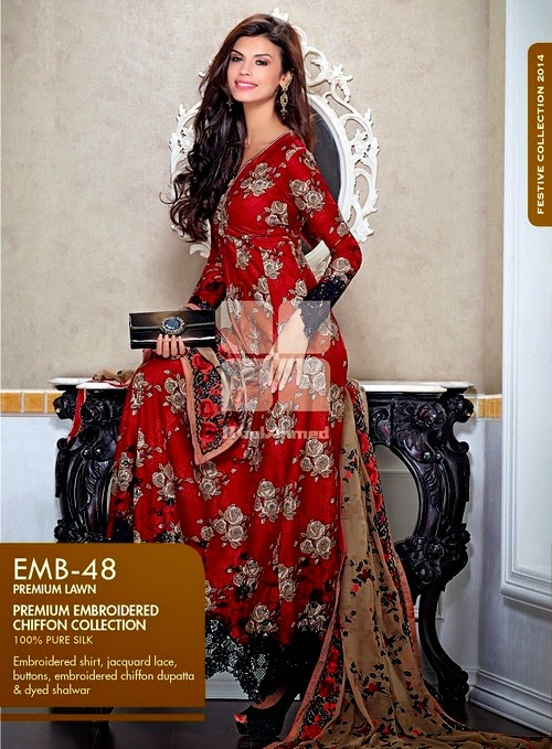 Gul-Ahmed Gold Eid Collection