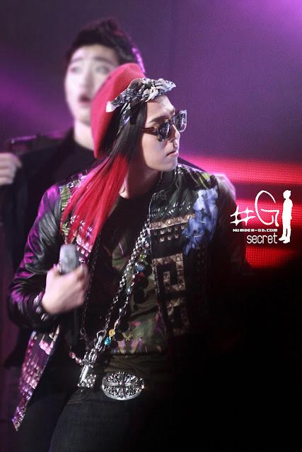 G-Dragon Kpop Star Rehearsal Photo