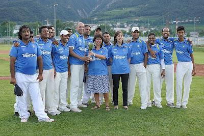 Trentino Cricket Club - Campione d'Italia 2012