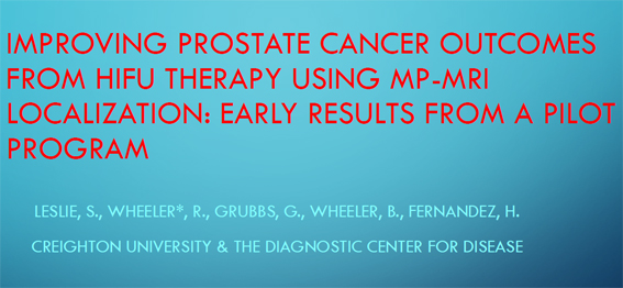 improving prostate cancer outcomes from HIFU therapy