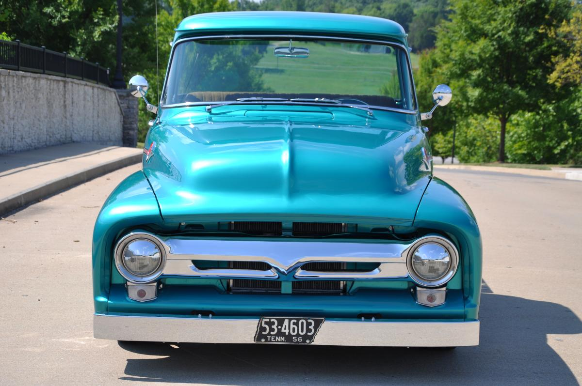 1956 Ford F100 hot rods street rods pickup Pictures - Hot ...