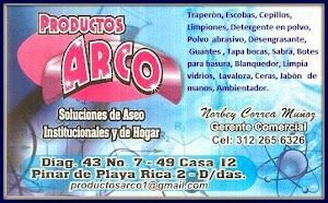 PRODUCTOS DE ASEO ARCO