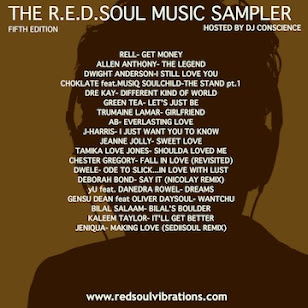 FREE DOWNLOAD:: THE R.E.D.SOUL MUSIC SAMPLER 5.0 (CLICK IMAGE)