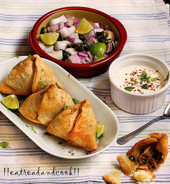 how to cook vegetable samosa recipe