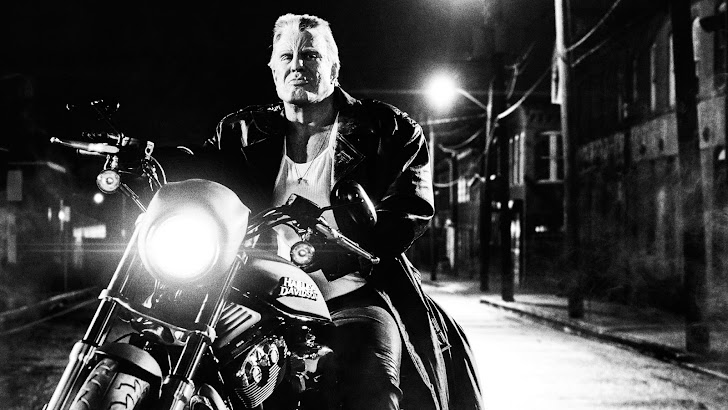 Mickey Rourke as Marv in Sin City A Dame to Kill for