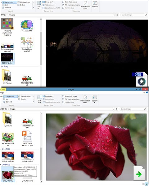 how to get windows 10 to preview psd files