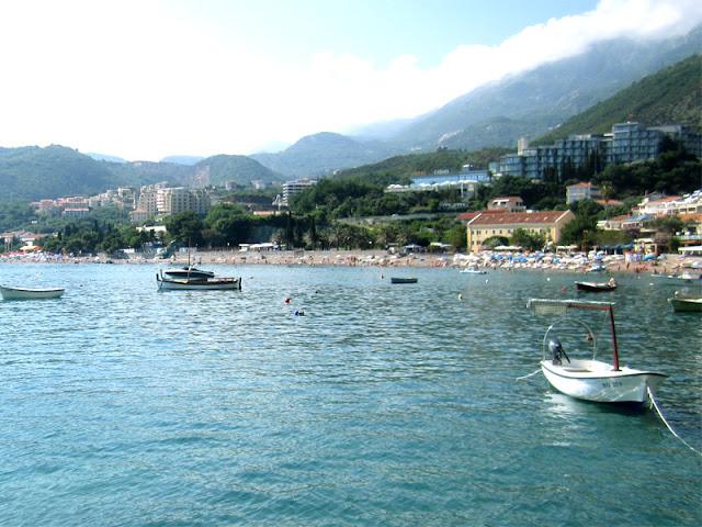 Rafailovici, Becici beach, Montenegro