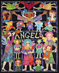 Mary Lou's Angel Block of the Month-A FREAT project to start for NEXT Christmas's Wall!