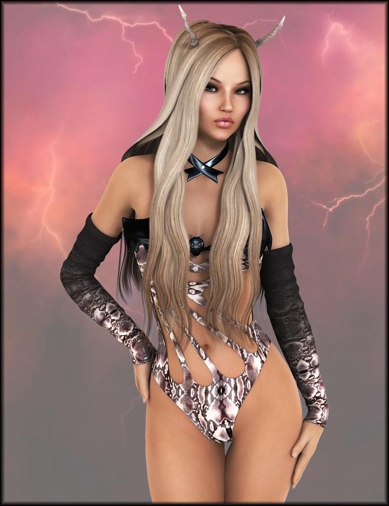 3d Models - Seductive Queen Textures