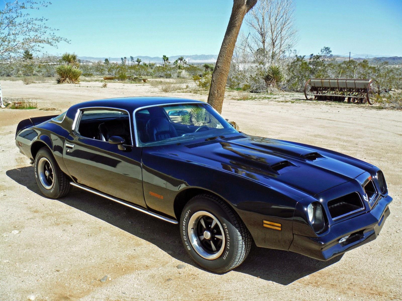 All American Classic Cars 1976 Pontiac Firebird Formula 2