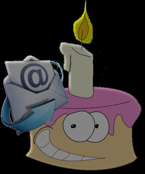 Eine E Mail Zum Geburtstag Vom Server Für Den Verein. Voraussetzung Ist Ein  Funktionierender Mail Server.