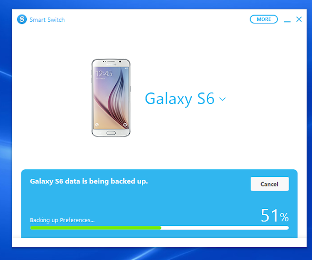 Come fare backup Samsung Galaxy S6 con Smart Switch PC