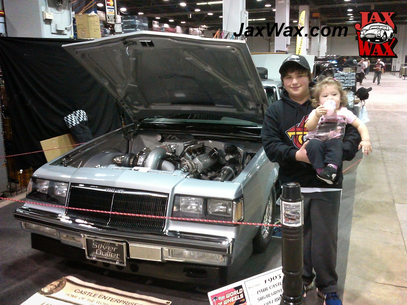 1987 Buick Turbo T Top Jax Wax Customer Chicago World of Wheels