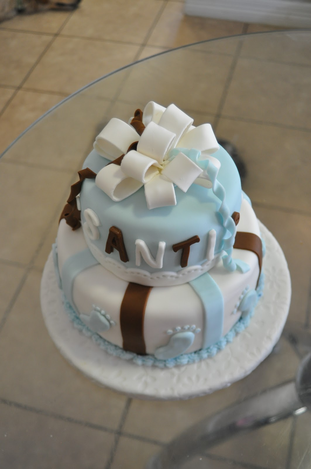 Baby Shower Cake Images Boy : Cakes R Us: Baby Boy Baby Shower Cake