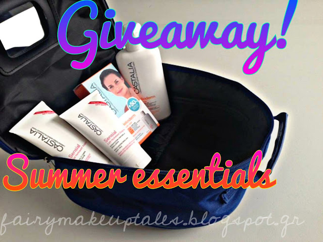 Win 2 summer Vanity Bags full of Castalia products!