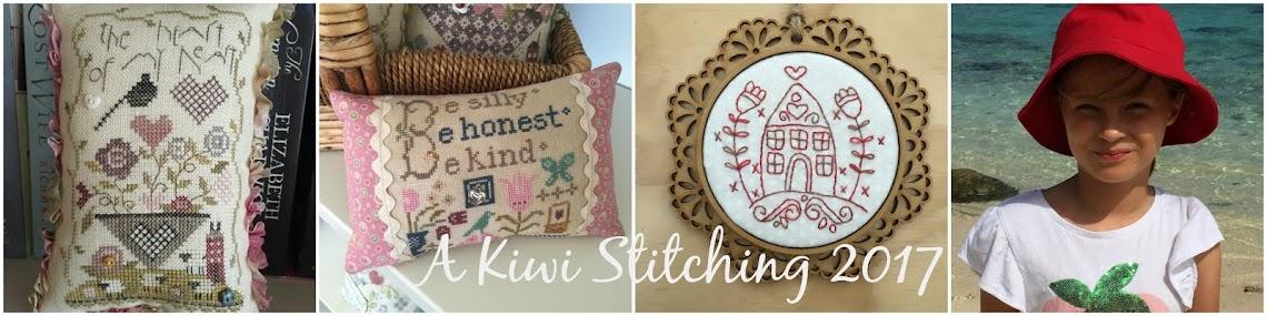 A Kiwi Stitching