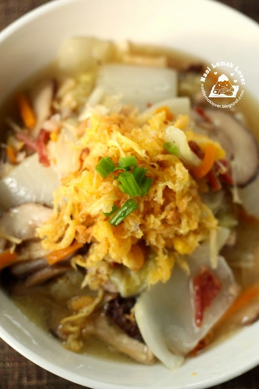 Nasi Lemak Lover: Braised Napa cabbage with Egg floss 蛋酥滷白菜 ...