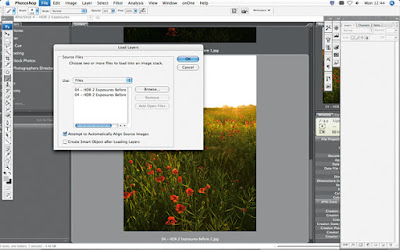 cara mengolah foto HDR dengan photoshop