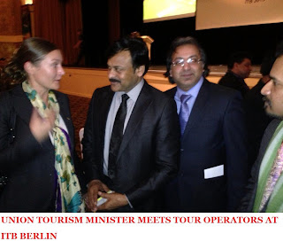 UNION TOURISM MINISTER MEETS TOUR OPERATORS AT ITB BERLIN