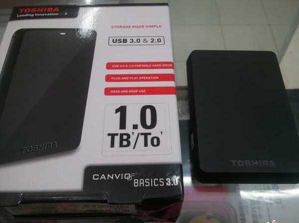 Hardisk Eksternal Toshiba 1TB TeraByte