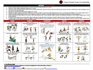 Freaky Strength Fitness & Bodybuilding: RUTINA TORSO/PIERNA #1