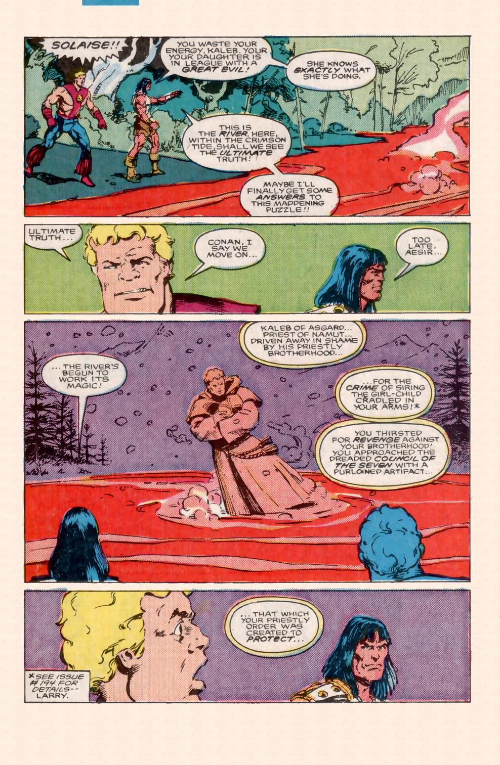 Conan the Barbarian (1970) Issue #199 #211 - English 13