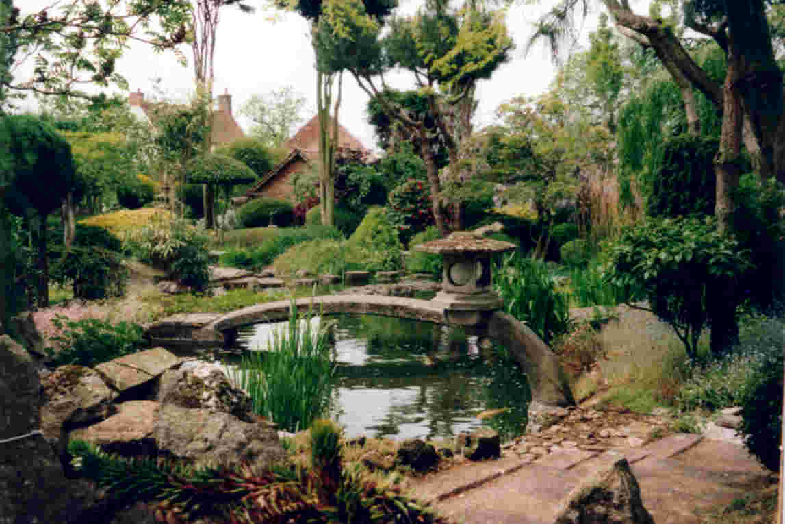 Design of Japanese Garden