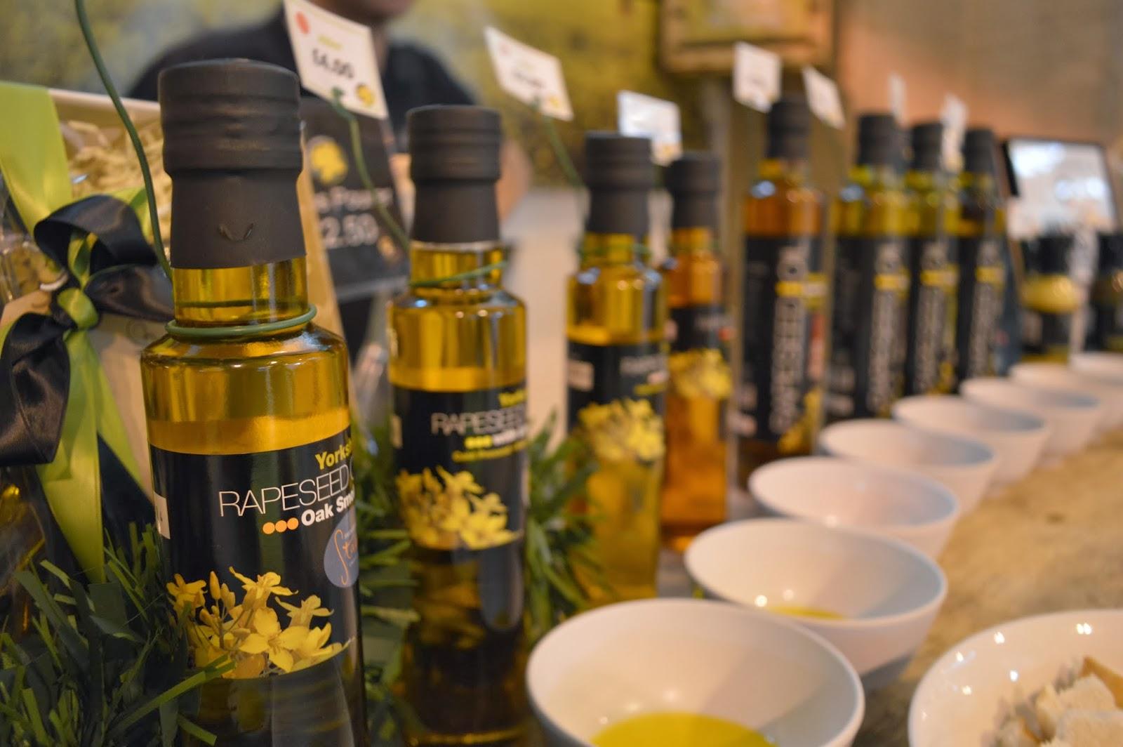 Yorkshire Rape Seed Oil