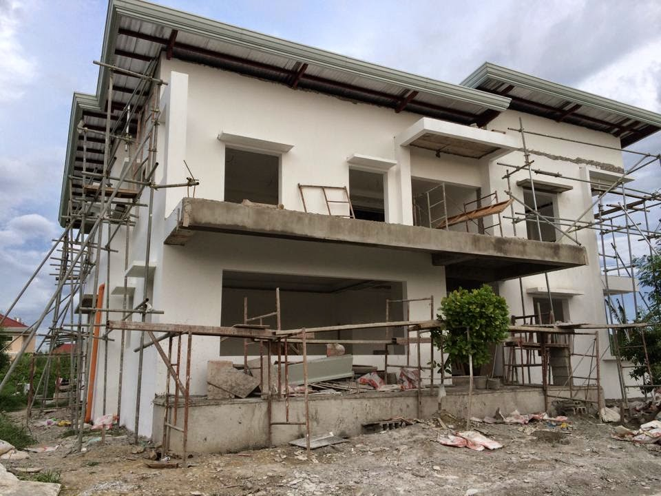 Westwood subd house construction project in mandurriao for 1 storey house floor plan philippines