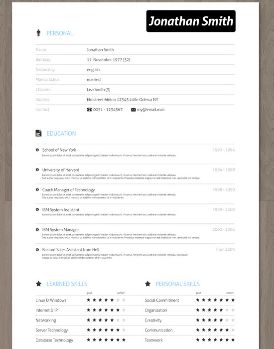 the freshness  30 amazingly creative examples of designer resumes