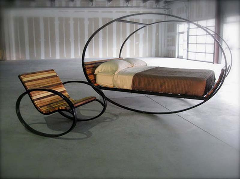 Mood Rocking Bed Indoor and Outdoor Furniture Glider | My design Homes