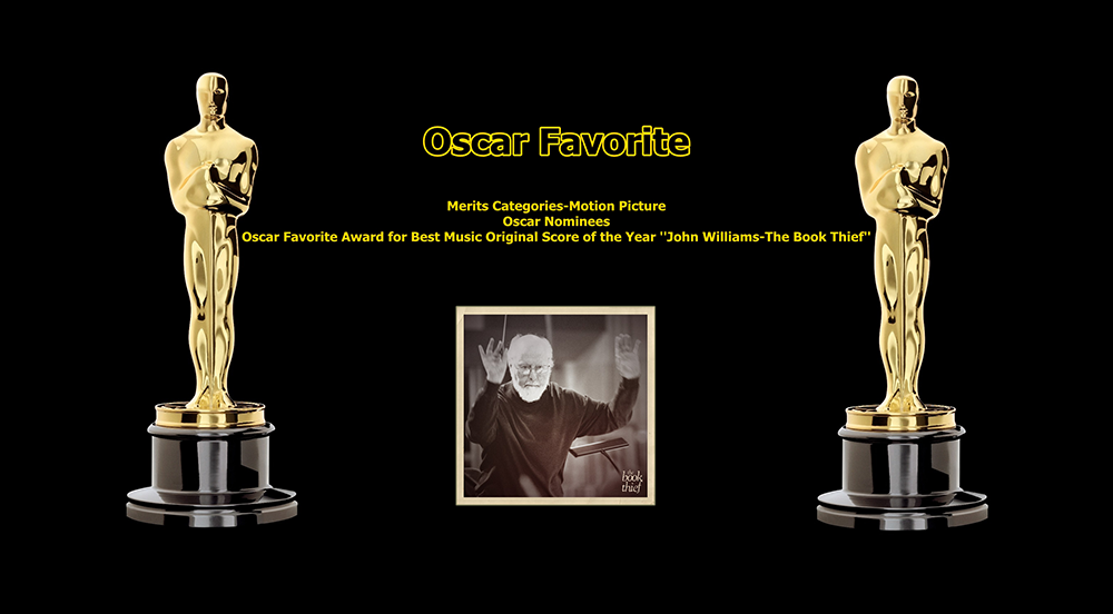 oscar favorite best music original score award john williams the book thief