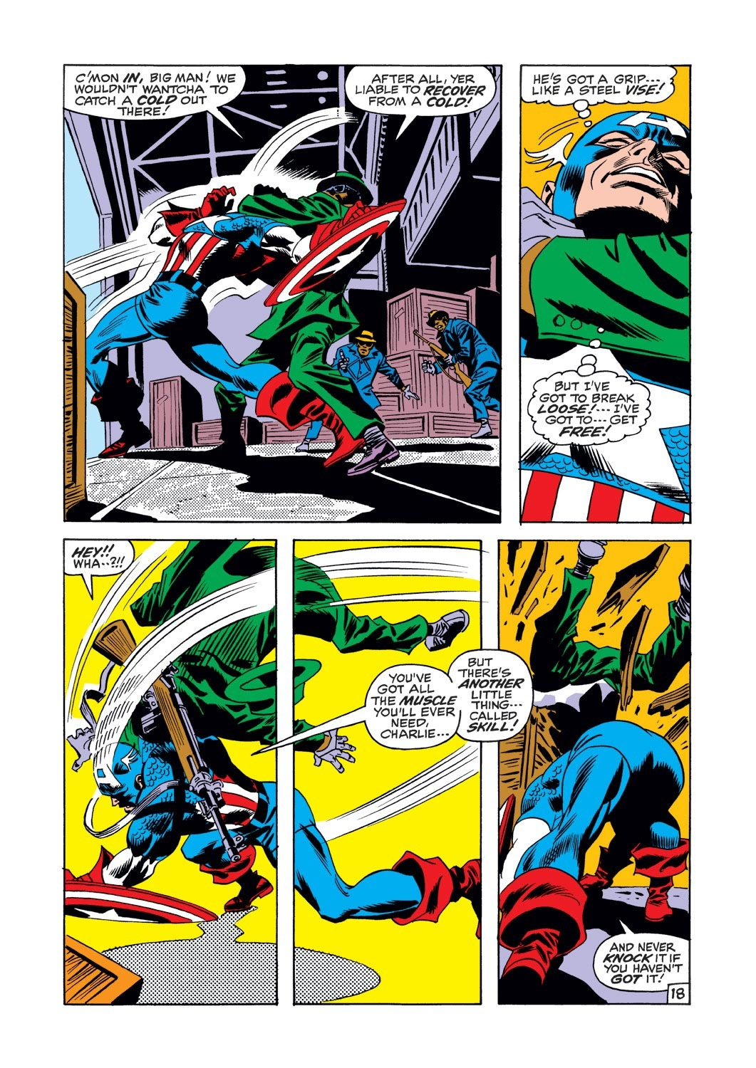 Captain America (1968) Issue #126 #40 - English 18