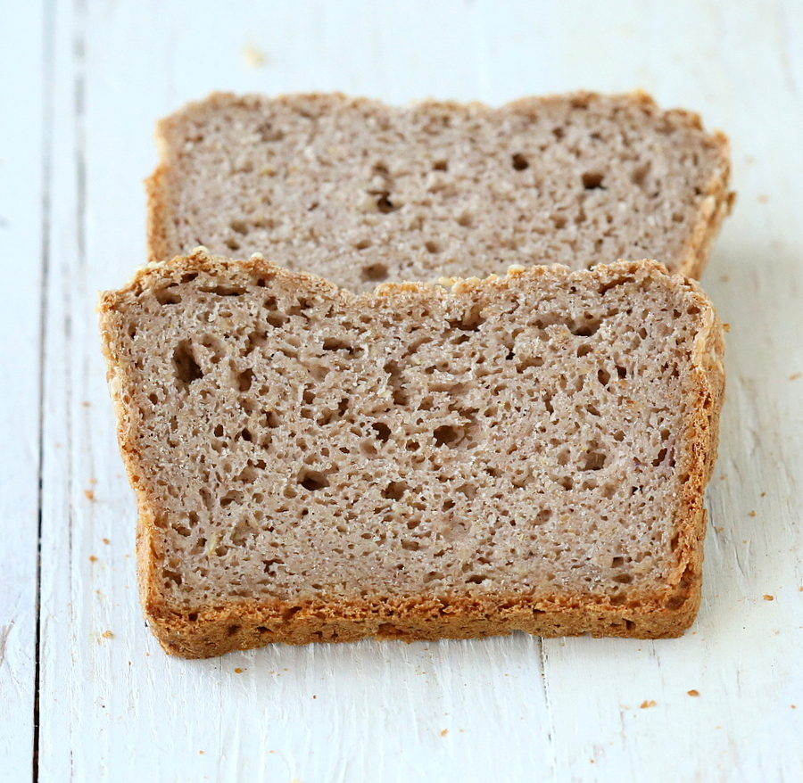 Gluten-free Strawberry Sandwich Bread Loaf. Xanthan-free Vegan Recipe ...