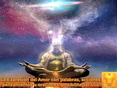 Cada acto de Amor que se otorgan a sí mismos o a otros, lo magnifican al punto que todos lo reciben.