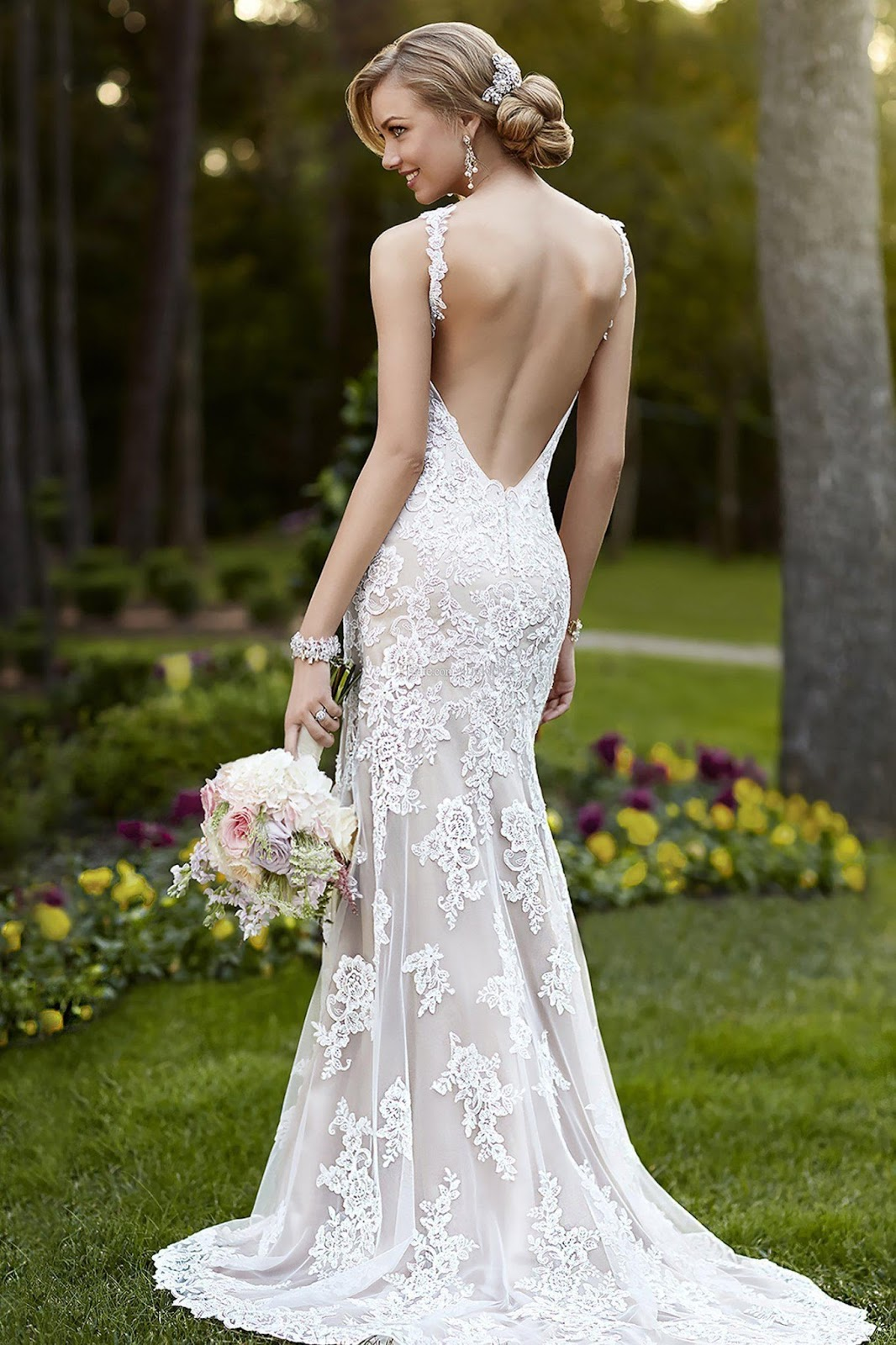 Wedding Dresses Cold Climates Sexy Back Lace Wedding Dresses