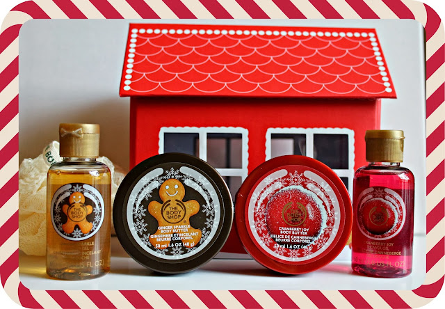 The Body Shop Gingerbread School House